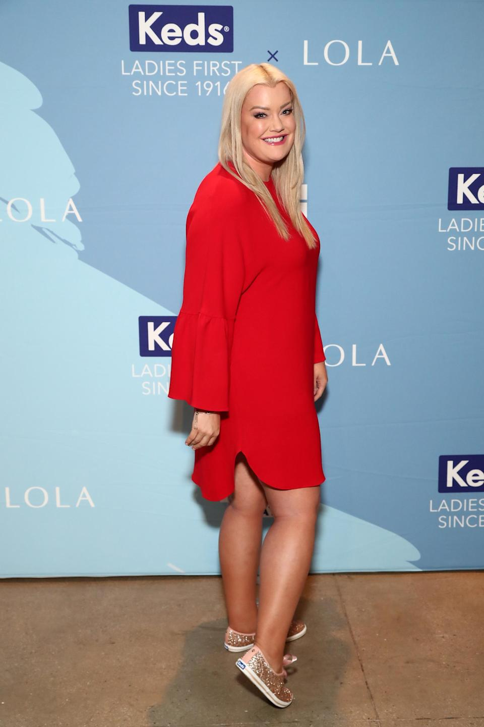 Jamie Kern Lima, co-founder and CEO of IT Cosmetics, in August 2017 in New York City. (Photo: Astrid Stawiarz/Getty Images for Keds)