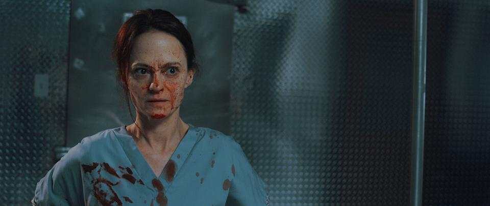 """Angela Bettis stars as an Arkansas nurse with an organ-trafficking side gig in the horror comedy """"12 Hour Shift."""""""