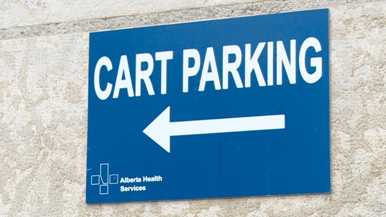 Health centre 'cart parking' offers safe area for homeless to keep belongings