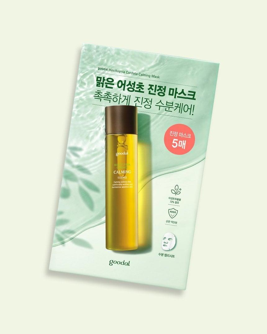 <p>As its name suggests, the hanbang ingredient in the <span>Goodal Houttuynia Cordata Calming Mask</span> ($15) is Cho's favorite, as mentioned above. It's packed with anti-inflammatory benefits to soothe irritated skin.</p>