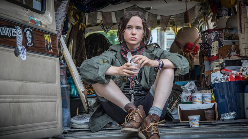 "<p>It's almost like <strong>Juno</strong>, but in reverse. A young woman (<a class=""link rapid-noclick-resp"" href=""https://www.popsugar.com/Ellen-Page"" rel=""nofollow noopener"" target=""_blank"" data-ylk=""slk:Ellen Page"">Ellen Page</a>) meets a toddler and her neglectful mother and, in an impulsive moment, decides to take the little girl with her and pass her off as her own daughter.</p> <p><a href=""http://www.netflix.com/title/80093198"" class=""link rapid-noclick-resp"" rel=""nofollow noopener"" target=""_blank"" data-ylk=""slk:Watch it now."">Watch it now.</a></p>"