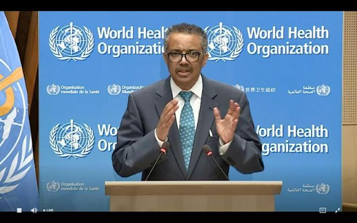 WHO chief Tedros pledged an independent probe as soon as possible (AFP Photo/-)