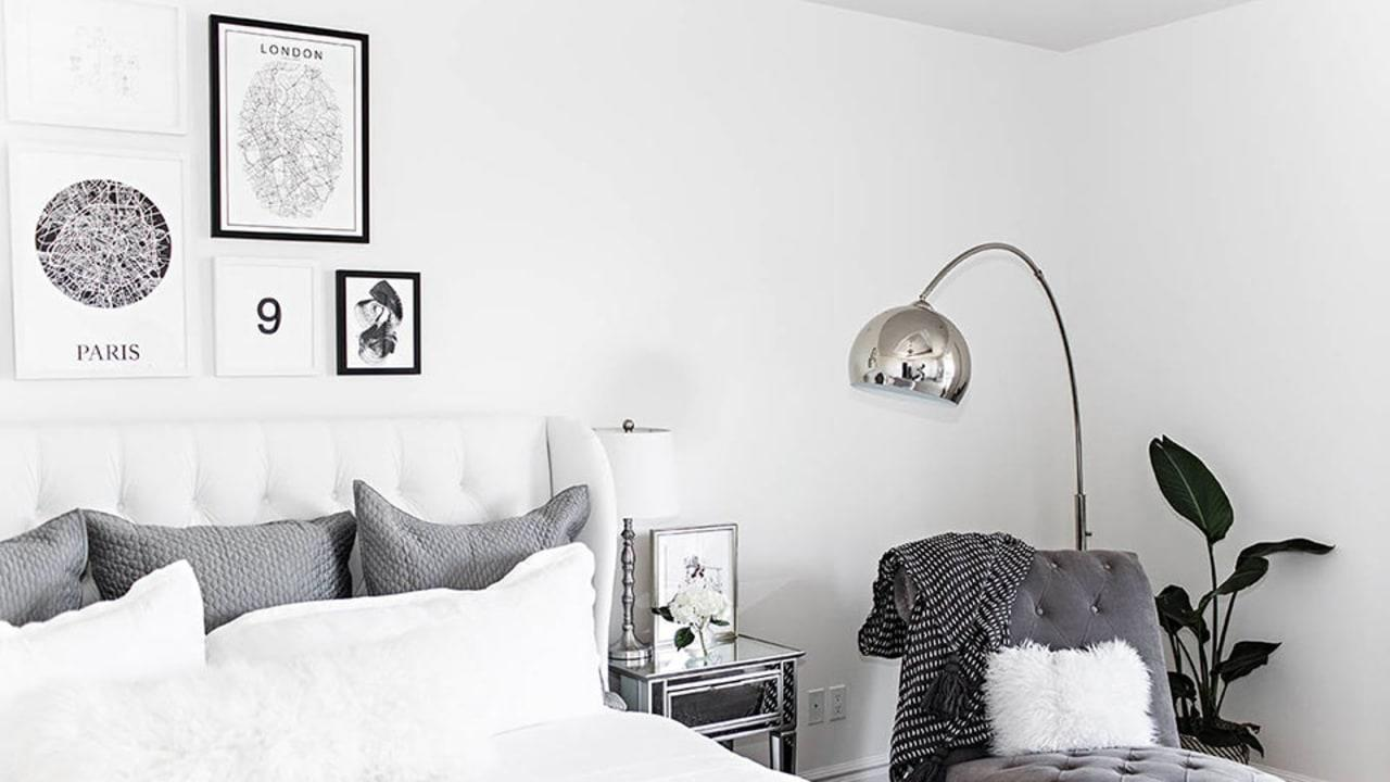 Gallery walls are ideal for filling a blank wall with your art and photos  but if you worry it'll look busy, sticking to a black and white palette helps keep it simple and minimalist. Ahead, shop our favorite picks and get some serious inspiration to create your own.