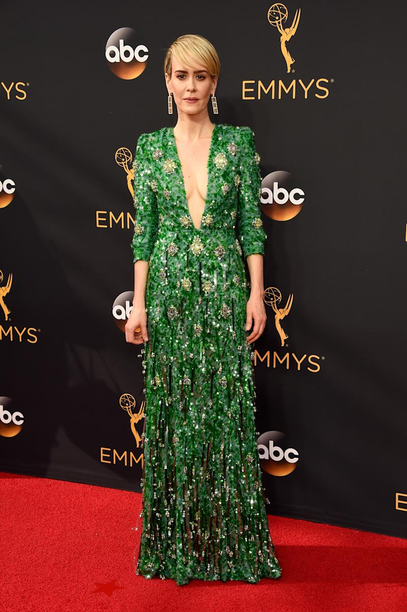 At the 68th Emmy Awards, September 2016