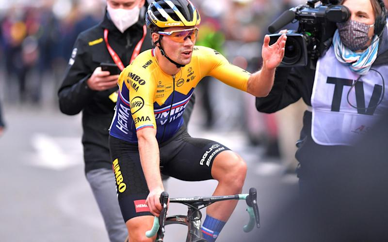Primoz Roglic —Liege-Bastogne-Liege was heartbreaking and heartwarming — we can all learn lessons from this monumental race - GETTY IMAGES