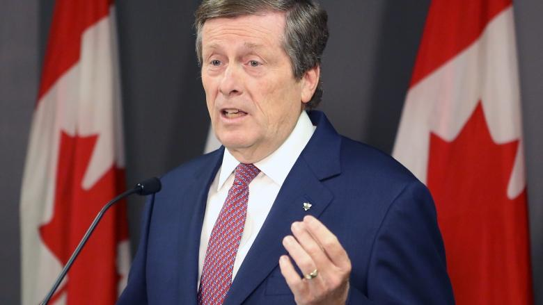 John Tory says it's time for another round of pot shop crackdowns