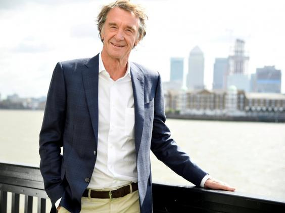 Sir Jim Ratcliffe, CEO of British petrochemicals company Ineos (Reuters)