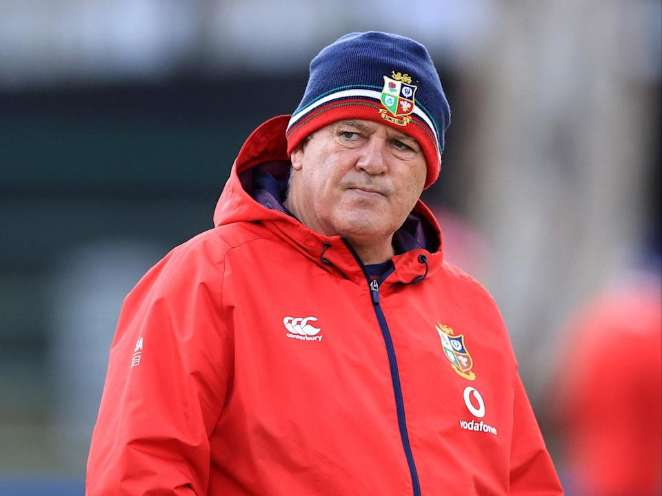 British and Irish Lions boss Warren Gatland, pictured, is understood to be angry with the appointment of a South African Television Match Official for the first Test match against the Springboks (David Rogers) (PA Wire)