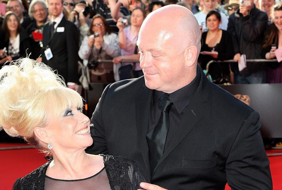 Barbara Windsor and Ross Kemp at the BAFTA Television Awards 2009 (Photo by Dave Hogan/Getty Images)