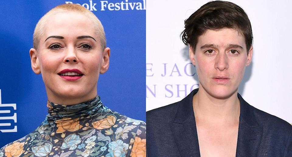 Rose McGowan and Rain Dove (Photo: Getty Images)