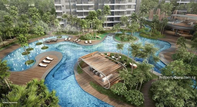 best-place-to-live-in-singapore-seletar-punggol-high-park-residences-pool