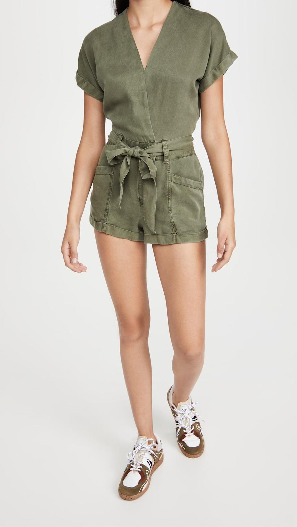 <p>This <span>Young Fabulous &amp; Broke Axel Romper</span> ($154)is a perfect summer suit.</p>