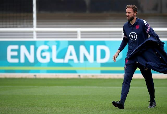 Gareth Southgate is preparing to lead England against Germany on Tuesday