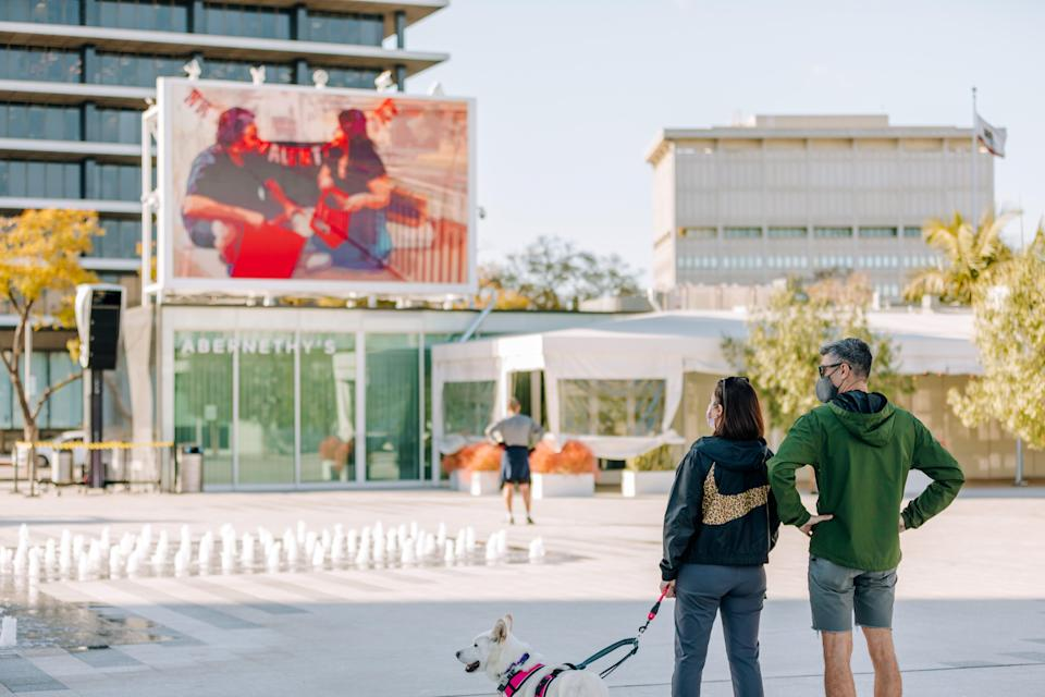 The Music Center, a performing arts center, is readying to reopen in Los Angeles as the state of California relaxes its COVID-19 restrictions and aims for a full reopening of the state in June.