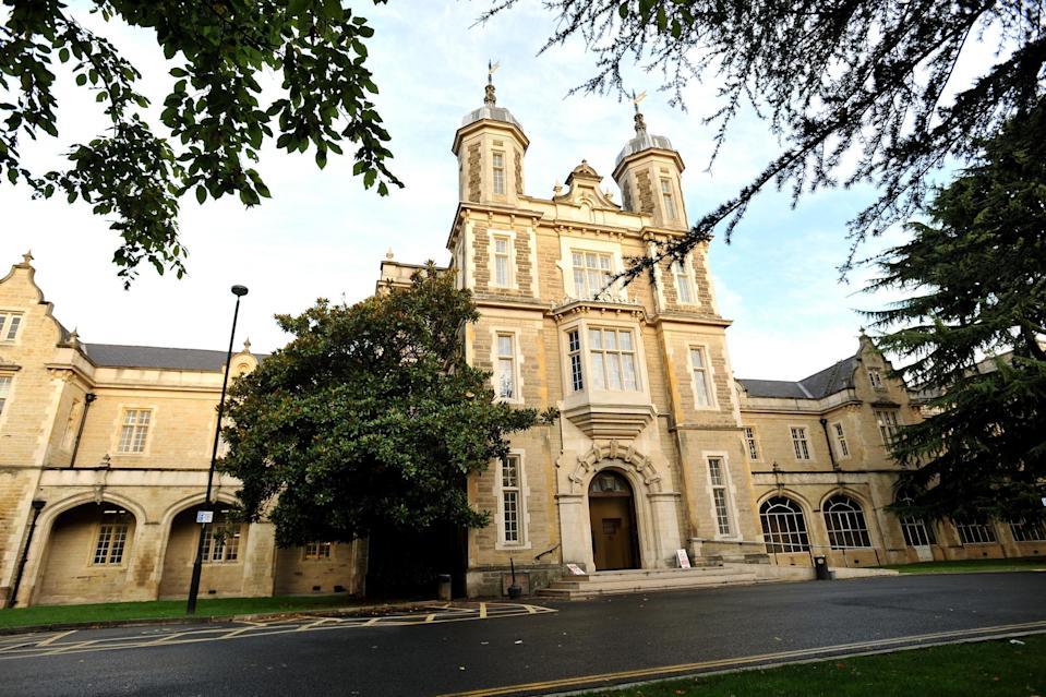 The entrance to Snaresbrook Crown Court in Holybush Hill (PA)