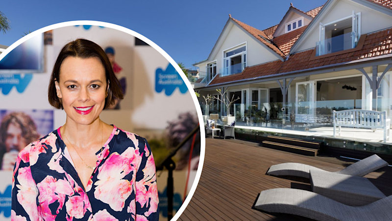 Mia Freedman and her Point Piper home