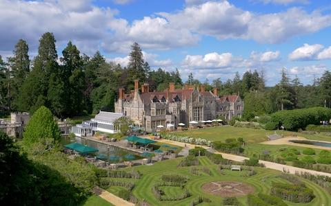 rhinefield house hotel, new forest spa pool area