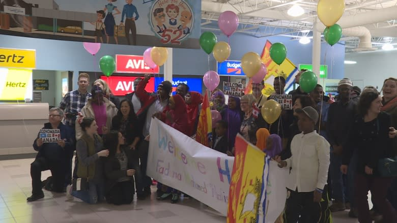 Somali family reunites at Saint John Airport after more than a decade apart
