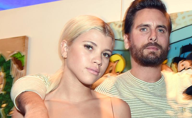 Whoa, a Kardashian Actually Said Something Nice About Scott Disick and Sofia Richie's Relationship