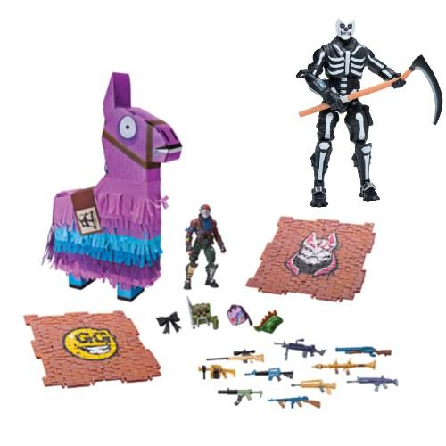 Solo Mode Figure and Fortnite Llama Loot Pinata. (Photo: Walmart)