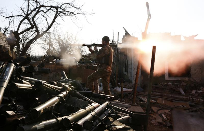 More than 10,000 people have been killed in eastern Ukraine since the Moscow-backed insurgency broke out in April 2014 after Russia's annexation of Crimea