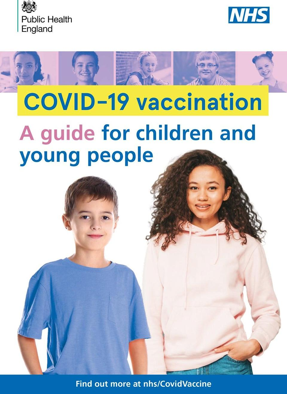 A guide to Covid-19 vaccination for children and young people (Public Health England/PA) (PA Media)