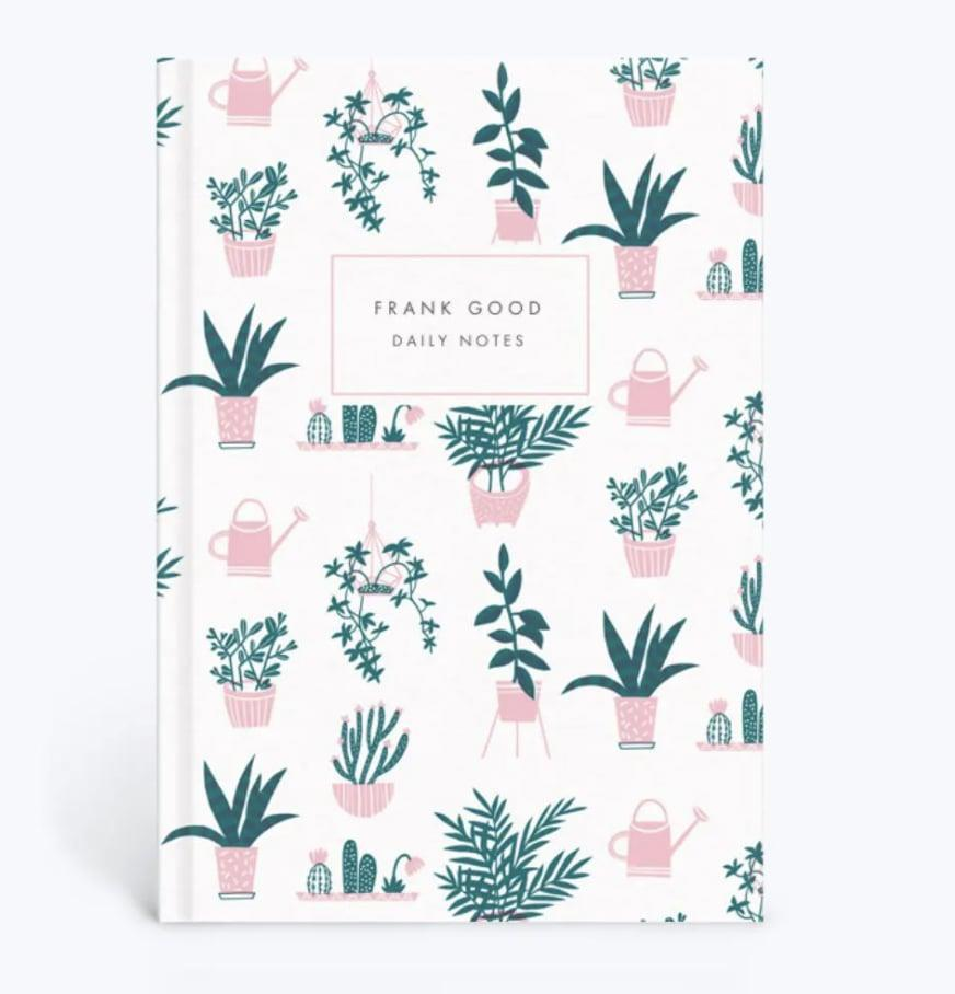 """<p>Customize this <span>Papier House Plants Journal</span> ($27) for a personal gift. The receiver can take notes about their garden or use it to jot down whatever other thoughts they may have. </p> <p>Click <a href=""""https://www.popsugar.com/smart-living/Health-Wellness-Tips-46521311"""" class=""""link rapid-noclick-resp"""" rel=""""nofollow noopener"""" target=""""_blank"""" data-ylk=""""slk:here"""">here</a> for more health and wellness stories, tips, and news.</p>"""
