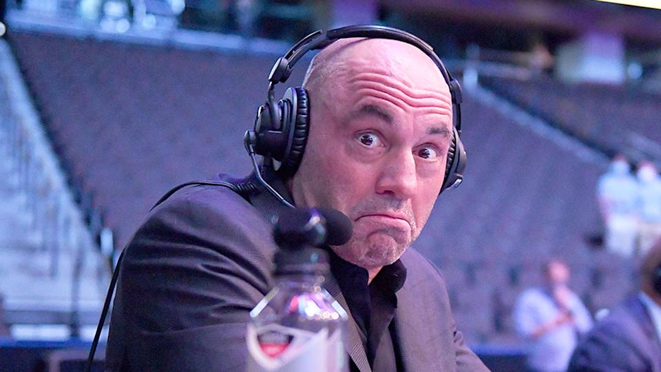 Joe Rogan responded to criticism over an episode of his podcast. Pic: Getty