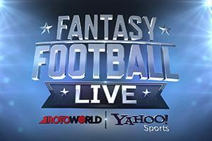 Fantasy Football Live airs every Tuesday and Thursday on NBC Sports Network and NBCSports.com