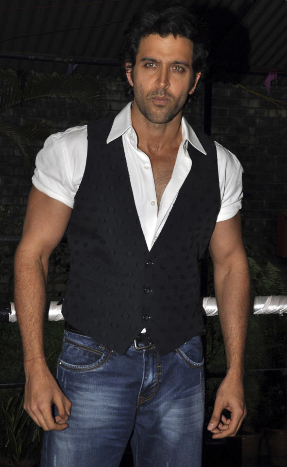 Hrithik Roshan  If there's a yummy Bollywood actor it's Mr. Hrithik Roshan! And what's most likeable about him is the fact that he's so very genuine. He's one star who doesn't try hard at all. It's his effortless demeanor that's just so attractive!