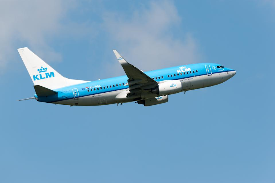 A Boeing 737-7K2(WL) with registration PH-BGE from KLM Royal Dutch Airlines has taken off from runway 36L at Amsterdam Schiphol Airport.  The airport code for Schiphol is AMS.