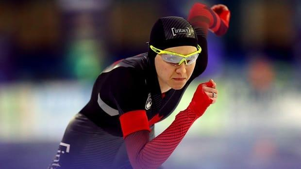 Ottawa's Isabelle Weidemann came closest to the speed skating podium for Canada on Sunday at the world championships, clocking six minutes 56.181 seconds to place fourth in the lone women's 5,000-metre race of the season, matching a career high.
