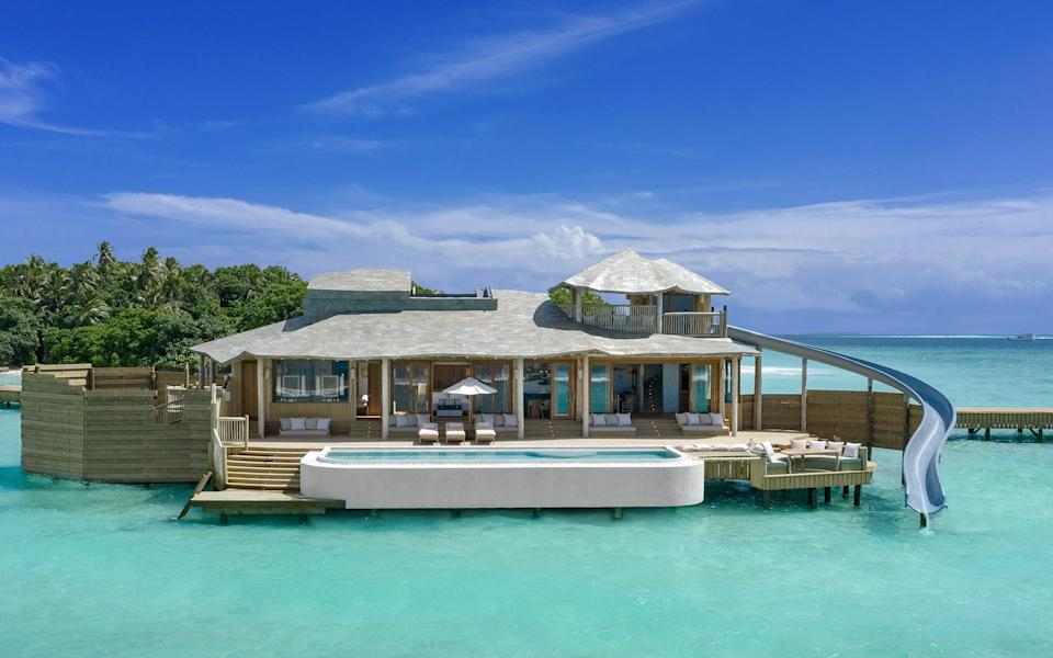Pool villas, minimising the use of plastic and farm-to-table cuisine: it all started at Soneva Fushi