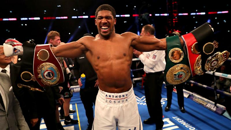 Anthony Joshua Fight Schedule How To Watch All 22 Of His