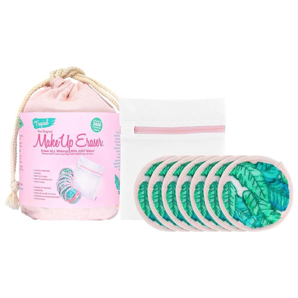<p>Get your beauty lover a gift they'll actually use with the <span>Original MakeUp Eraser Tropic Like Its Hot 7-Day Make Up Eraser Set</span> ($25). One side is great for exfoliating while the other wipes the day off with ease.</p>