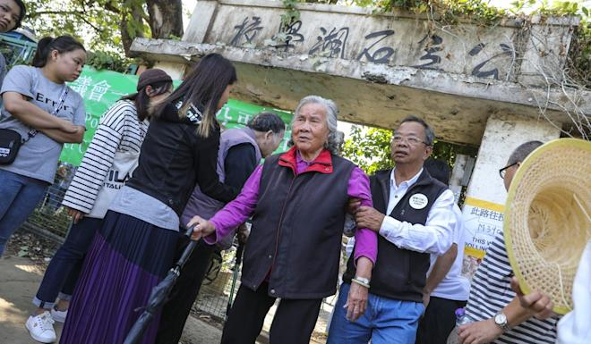 Pat Heung South voters. Photo: K.Y. Cheng