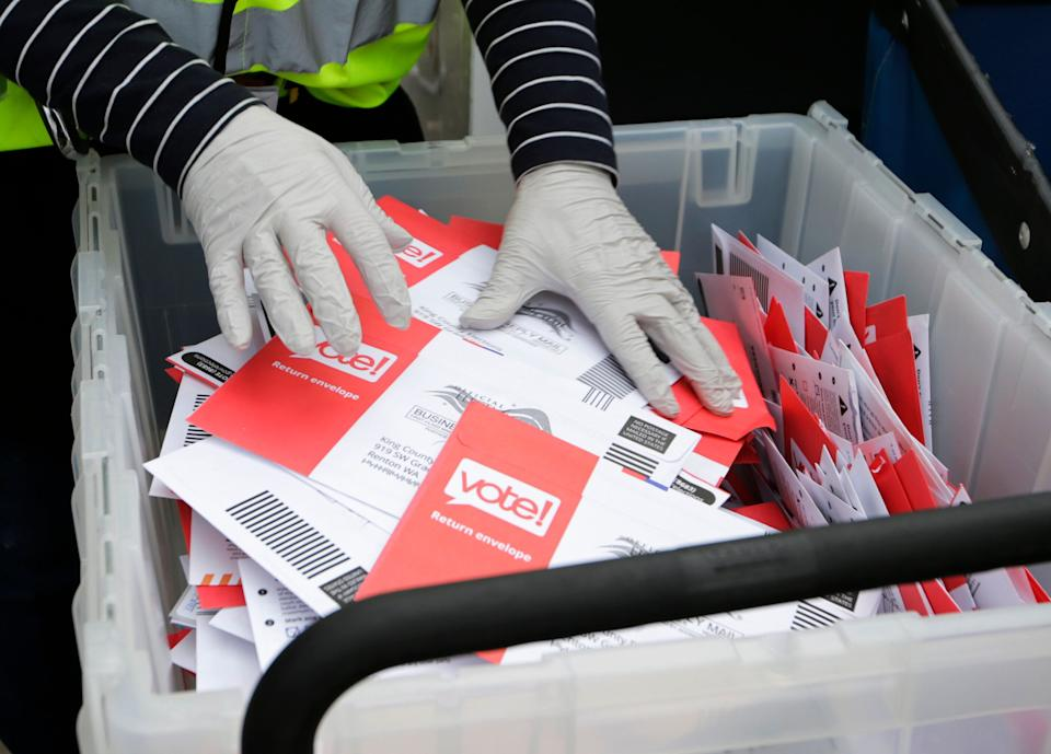Voting by mail is expected to surge in every state in 2020 due to fears of the coronavirus. (Photo: ASSOCIATED PRESS)