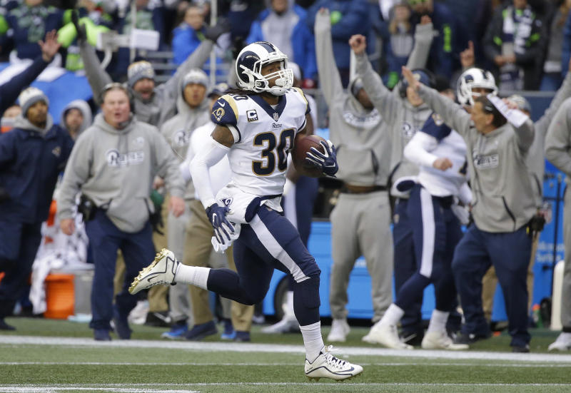 Todd Gurley's big game last week could put him in line for some individual awards. (AP)