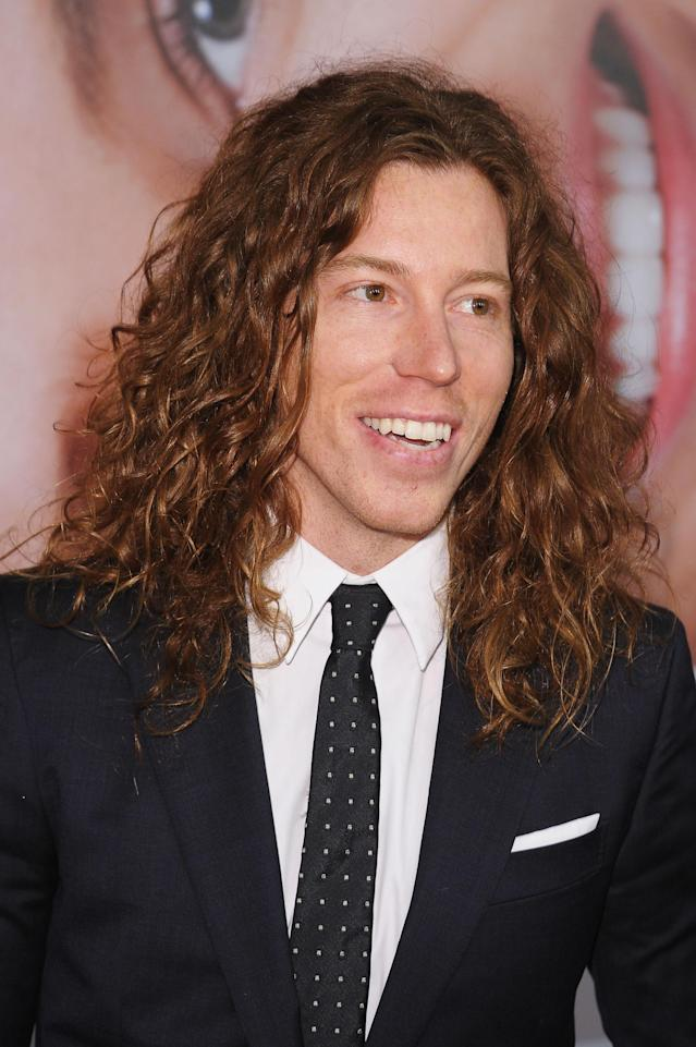 NEW YORK, NY - APRIL 18: Snowboarder Shaun White walks the red carpet at the 2012 Tribeca Film Festival at the Ziegfeld Theatre on April 18, 2012 in New York City. (Photo by Michael Loccisano/Getty Images)