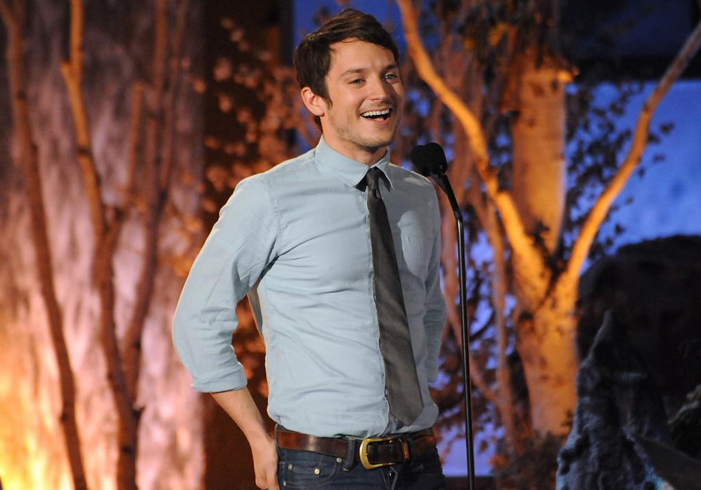 """<a href=""""http://movies.yahoo.com/movie/contributor/1800021190"""">Elijah Wood</a> at the 2009 Spike TV Scream Awards in Los Angeles - 10/17/2009"""