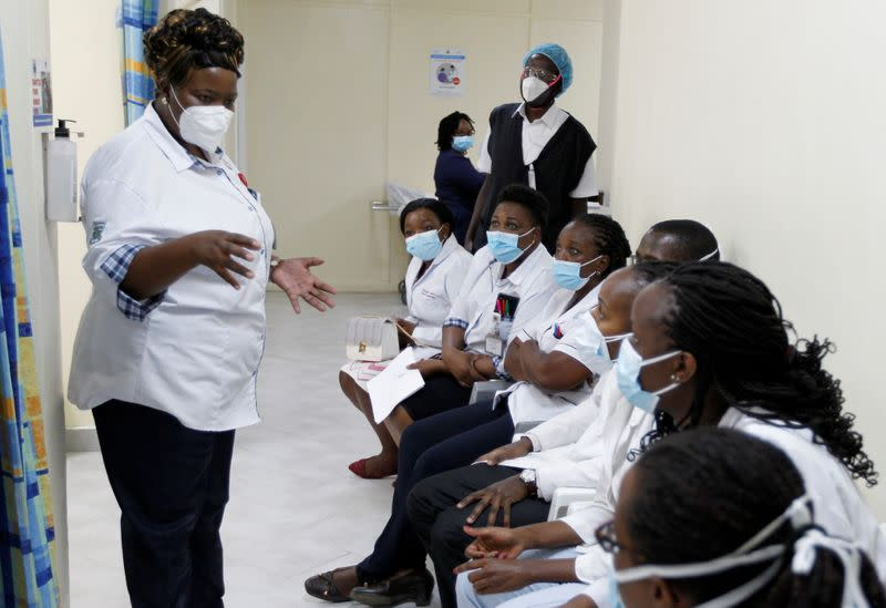 FILE PHOTO: Kenya to kick off coronavirus vaccination campaign with COVAX shots in Nairobi