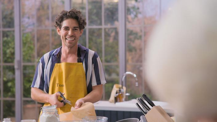 Tom Read Wilson in Celebrity Best Home Cook - (Keo Films/BBC)