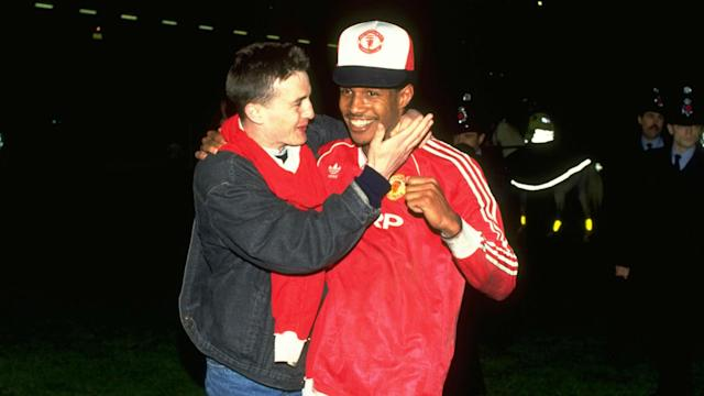 Paul Ince Manchester United 1990 FA Cup final