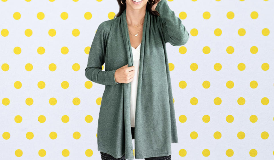 The perfect throw-on-and-go style. (Photo: Walmart)