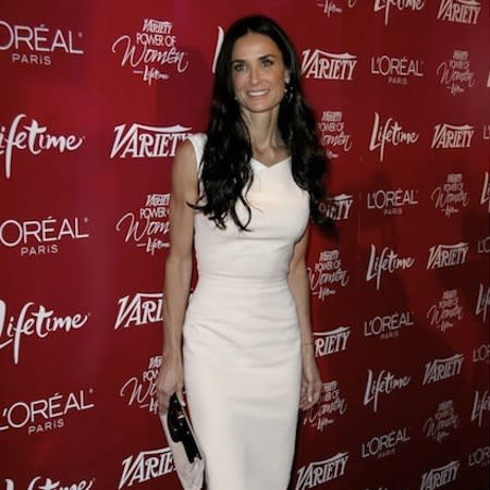 Demi Moore 'emotional' seeing ex