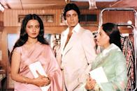 Though <em>Silsila</em> didn't command huge profits at the time of release, it has achieved the status of being a cult over the decades. The romantic tragedy starring three of the greatest actors of their times was blessed with Yash Chopra's peerless direction and timeless music by Shiv-Hari. Many looked at this movie as a cinematic narration of the real life of Amitabh-Rekha-Jaya, but this claim was far from truth as the plot of <em>Silsila</em> was completely different from the real love-triangle the stars were caught in.