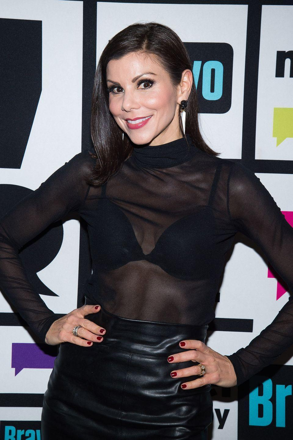 """<p>After five seasons, <em>Orange County</em> fan favorite Heather Dubrow surprised fans in 2016 when she announced that she was leaving the <em>Real Housewives</em> on her <a href=""""https://open.spotify.com/show/0hppHggaVvoil87Shx1G1M"""" rel=""""nofollow noopener"""" target=""""_blank"""" data-ylk=""""slk:podcast"""" class=""""link rapid-noclick-resp"""">podcast</a>. """"After a lot of careful thought and deliberation, I have decided not to return to <em>RHOC</em> this season. I'm so proud to have been a part of such an iconic piece of pop culture,"""" Heather said in a statement to <em>The Daily Dish</em>. """"At this point in my life, I have decided to go in another direction and do what's best for my family and career.""""</p>"""