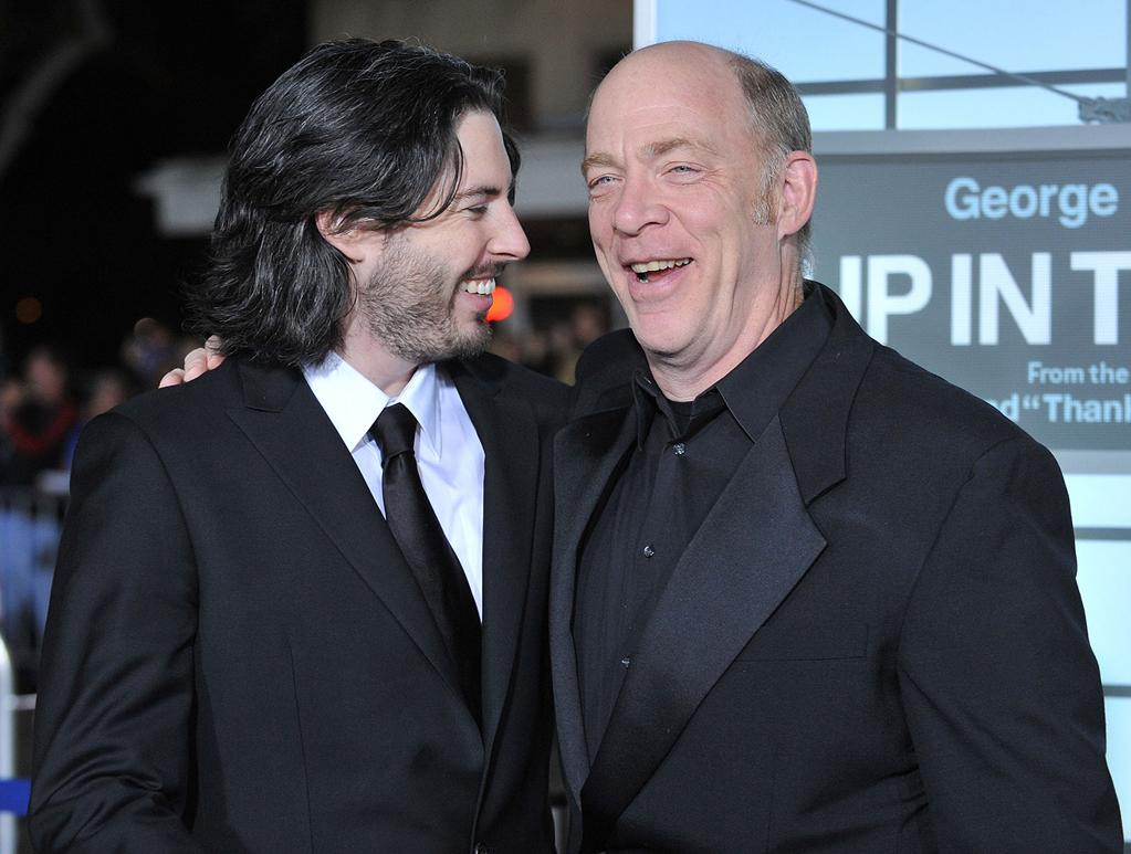 "<a href=""http://movies.yahoo.com/movie/contributor/1804141701"">Jason Reitman</a> and <a href=""http://movies.yahoo.com/movie/contributor/1800307135"">J.K. Simmons</a> at the Los Angeles premiere of <a href=""http://movies.yahoo.com/movie/1810062520/info"">Up in the Air</a> - 11/30/2009"