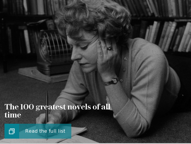 The 100 greatest novels of all time