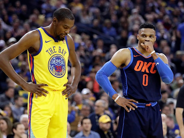 Kevin Durant 'liked' an Instagram comment criticizing Russell Westbrook and called it an accident